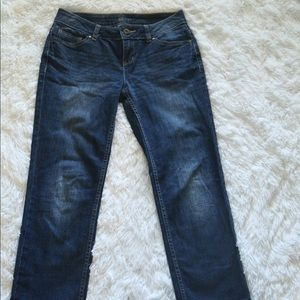 Simply Vera Wang Jeans - straight fit